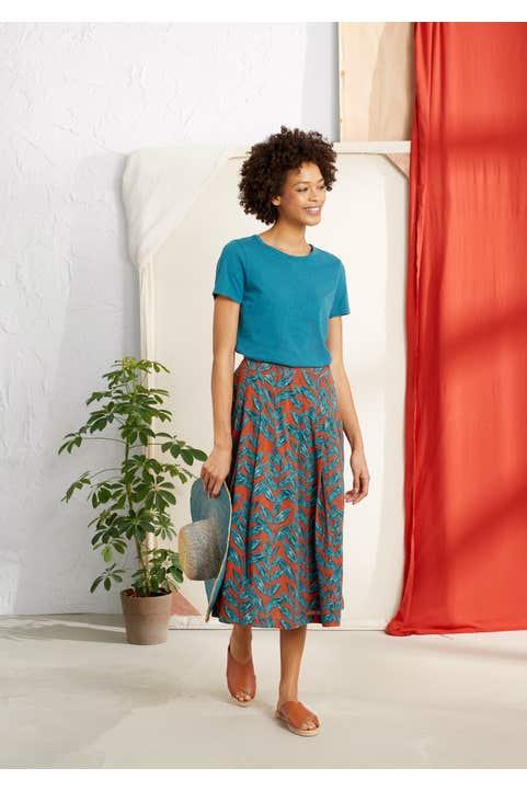 Sea Mist Skirt Model Image