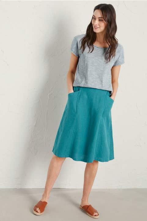 Castle Garden Skirt Model Image