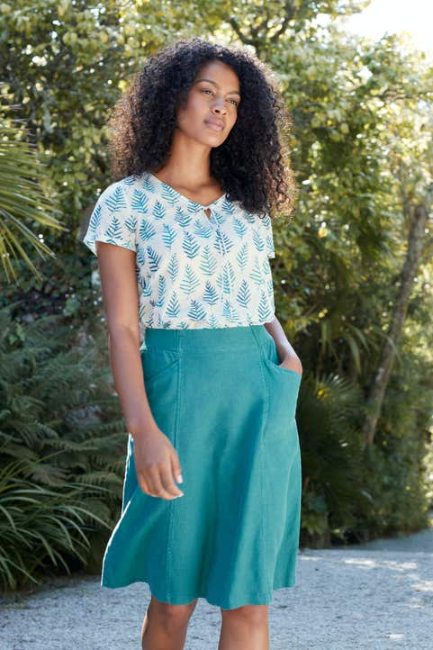 Aloe Walk Top Model Image