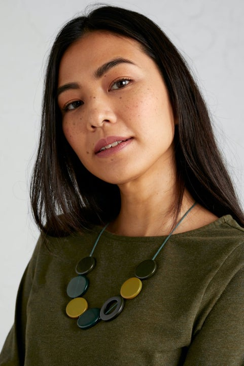 Findings Necklace Model Image