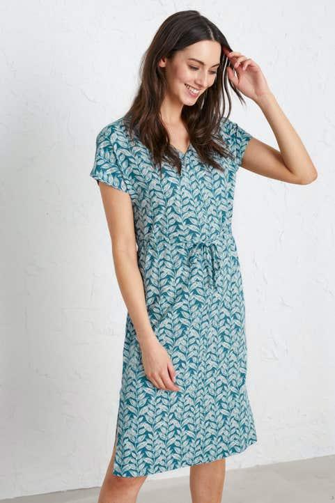 Field Poppy Dress Model Image