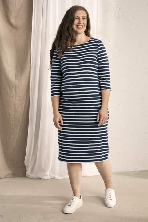 Maternity Sailor Dress  Model Image