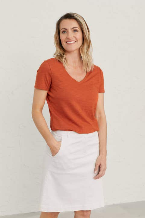 Lucie T-Shirt Model Image