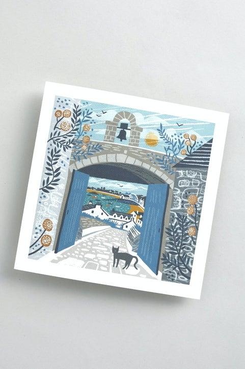 Single Greetings Cards Model Image