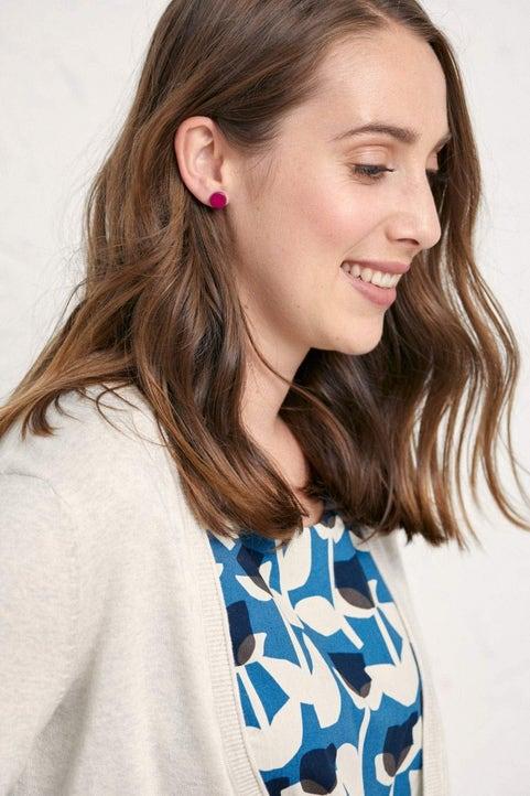 Cypress Earrings Model Image