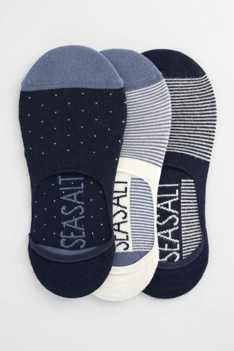 Women's Everyday Liner Socks Pack Of 3 Model Image