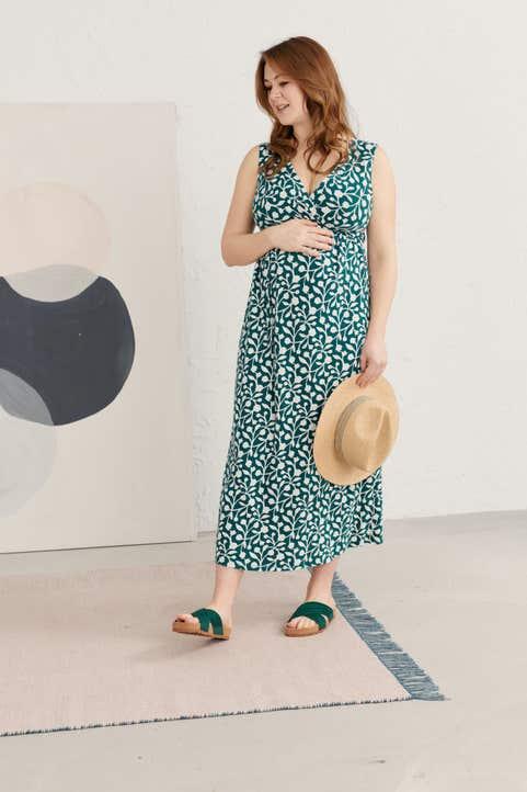 Maternity Kathleen Dress Model Image