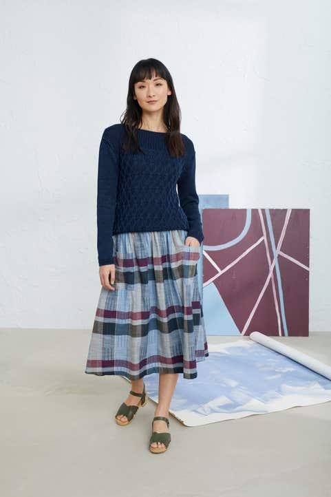Misty Day Skirt Model Image