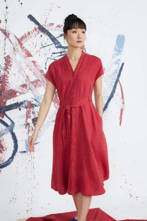 Herring Sky Dress Model Image