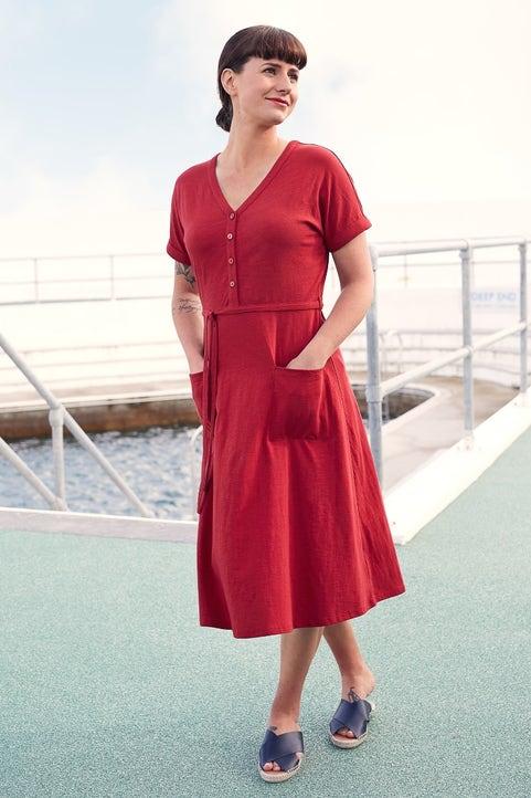 Coastwatch Dress Model Image