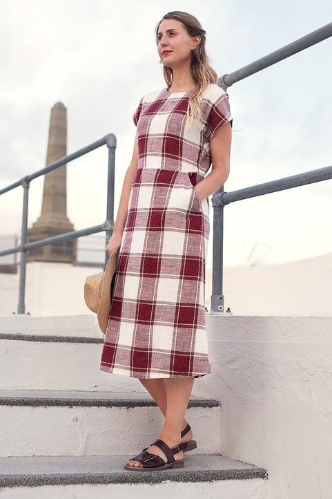 High Above Dress Model Image