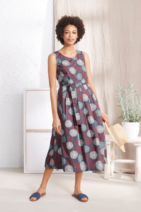 Belle Dress Model Image