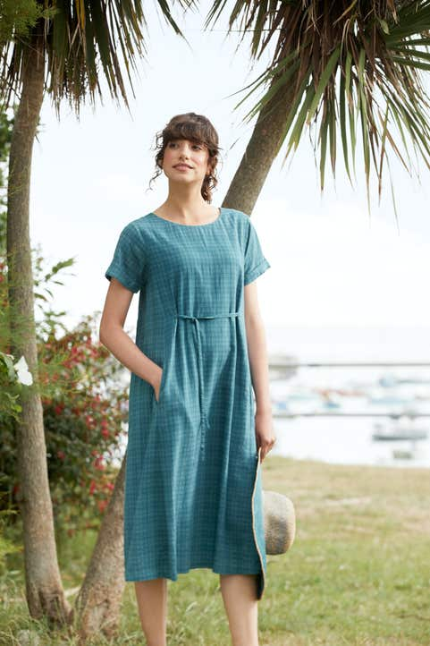 Sunny Terrace Dress Model Image