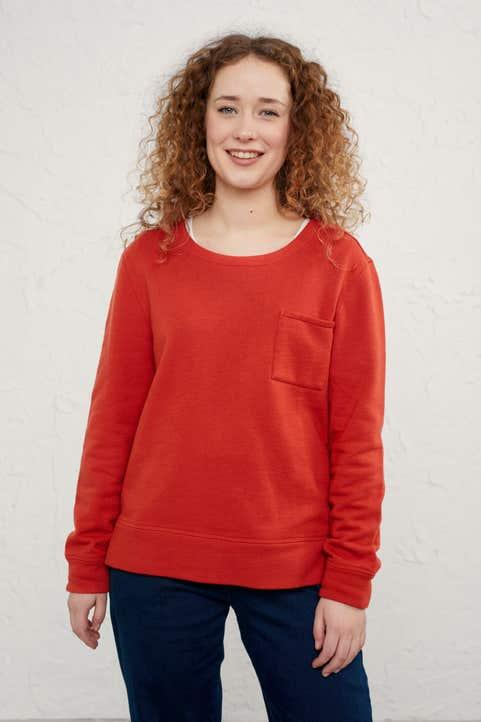 Heart Space Sweatshirt Model Image