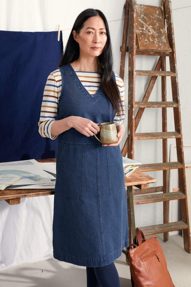 Beacon Point Dress Model Image