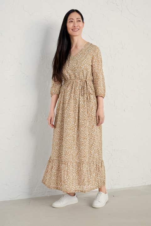 Corn Marigold Dress Model Image
