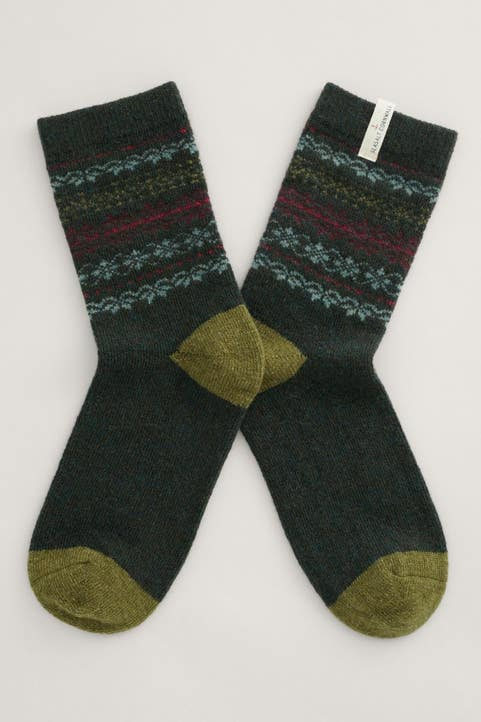 Women's Fair Isle Socks Image