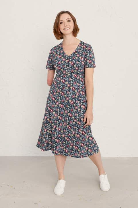 Alma Dress Model Image