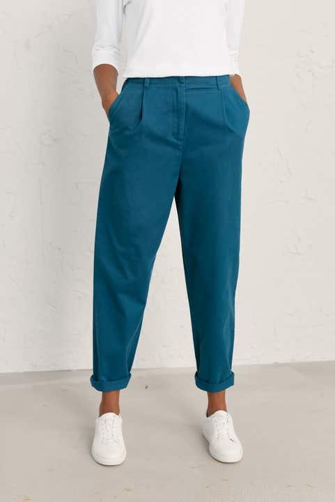 Golden Drift Trousers Model Image