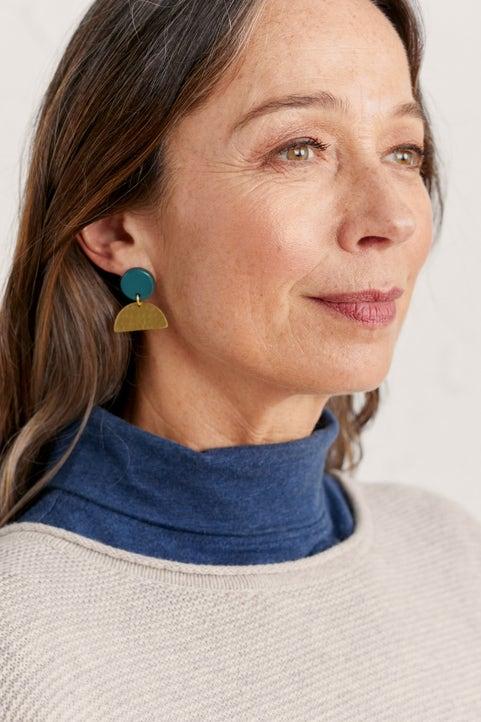 Beach Stone Earrings Image