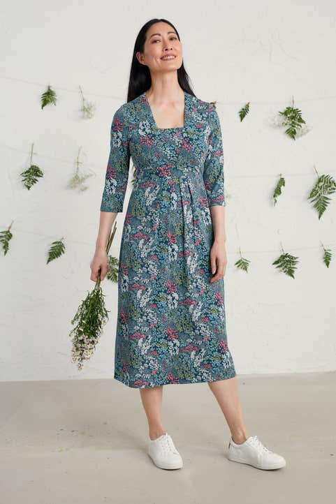 Seed Packet Dress Model Image