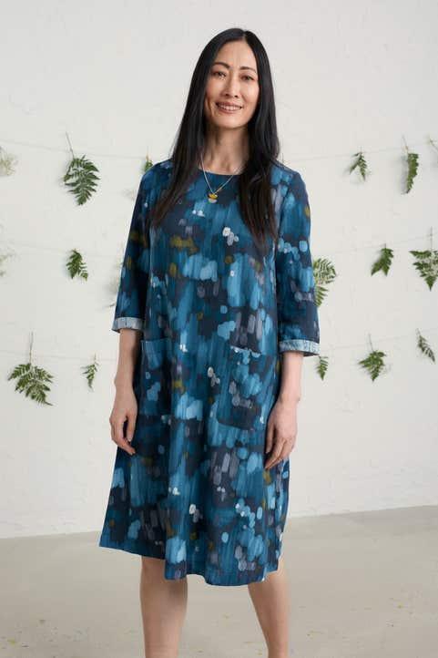 Peak Harvest Dress Model Image
