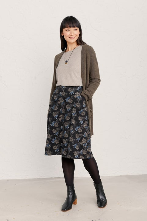 Forest View Skirt  Model Image