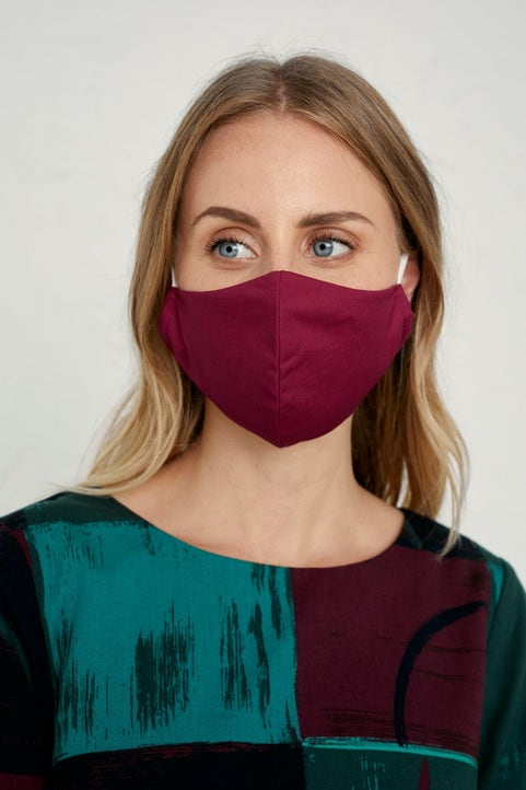 Shaped Fabric Face Coverings Image