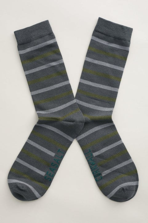 Men's Sailor Socks Model Image