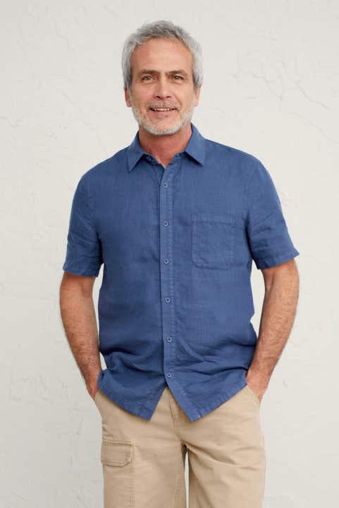 Men's Bootlegger Shirt Model Image