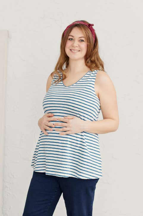 Maternity Enid Vest Model Image