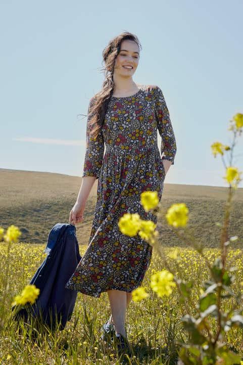 Heaven Bloom Dress Model Image