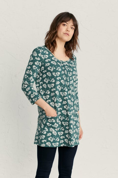 3/4 Sleeved Busy Lizzy Tunic Image