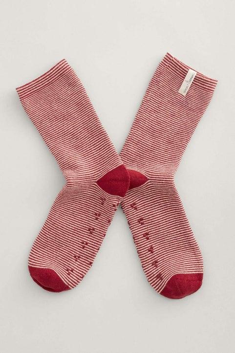 Glad Tidings Slipper Socks Image