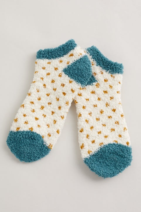 Fluffies Trainer Socks Image