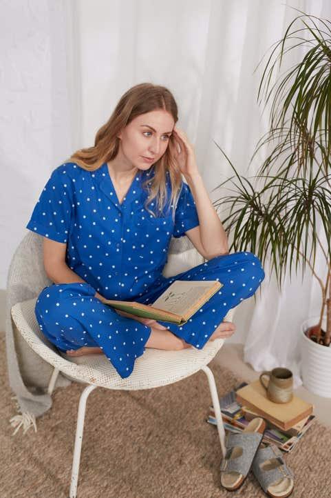 Voyaging Pyjamas Model Image
