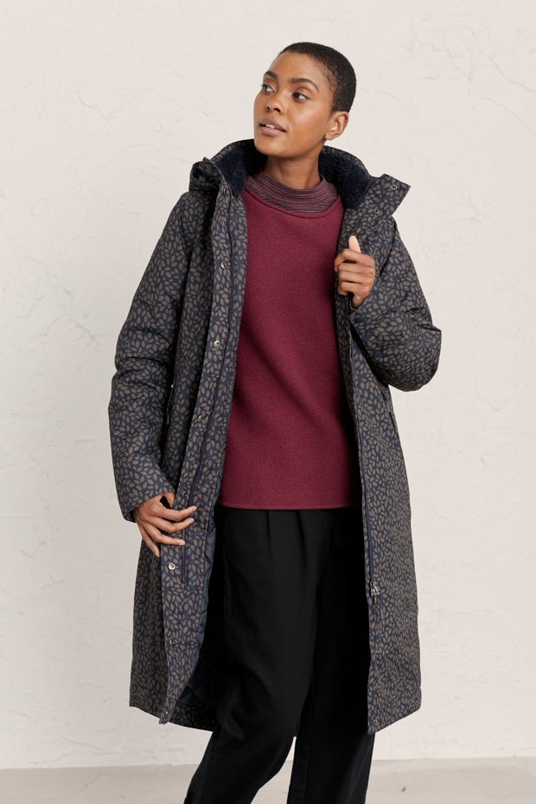 Janelle Coat Model Image