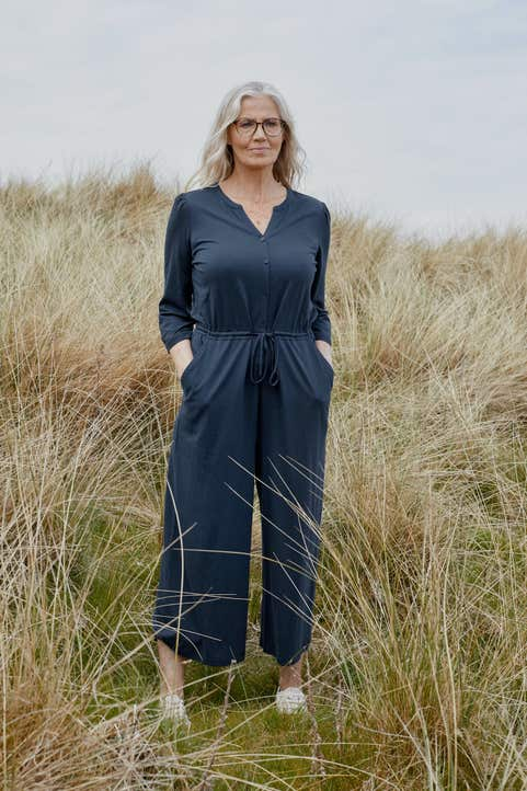 Sheltered Pass Jumpsuit Model Image