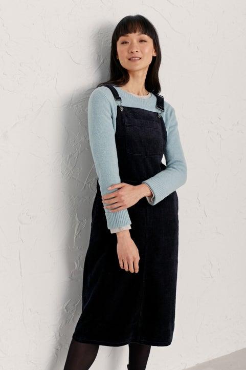 Roseworthy Dungaree Dress  Model Image