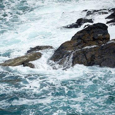 The wild beauty of theCornish sea