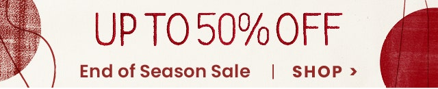 Up to 50% Sale