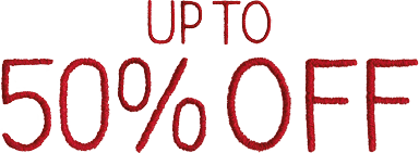 Up top 50% OFF