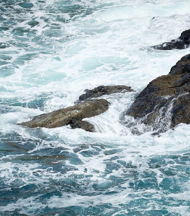 The Wild Beauty Of The Cornish Sea