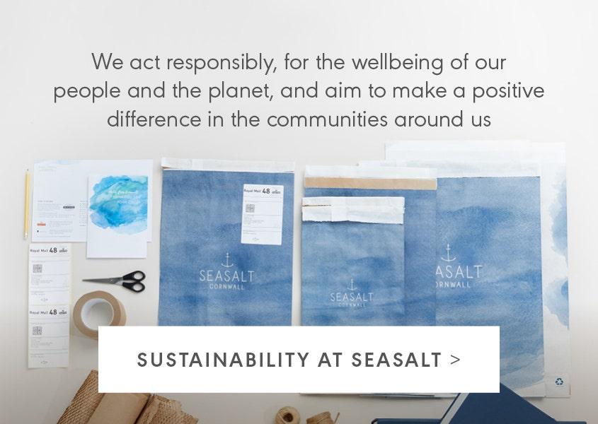 Sustainability at Seasalt