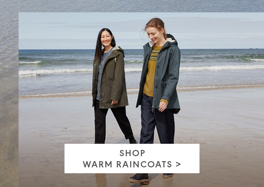 Shop warm raincoats